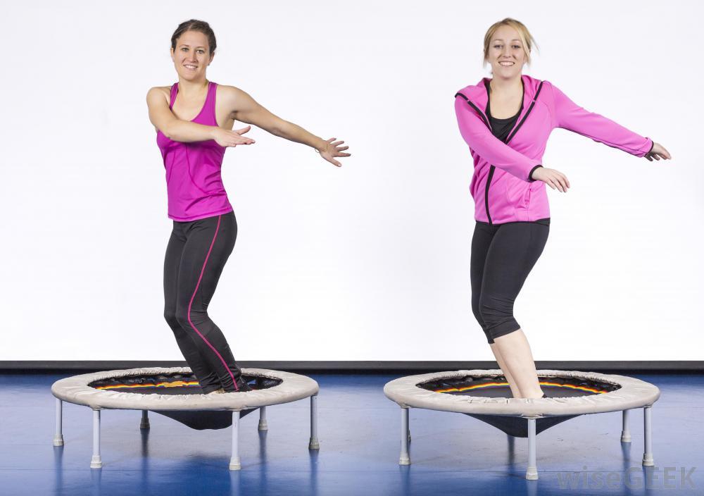 women-in-pink-on-trampolines